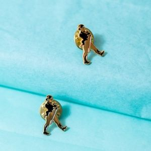 Vintage Vaudeville pins matching set men brooches